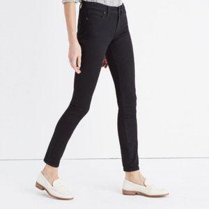 Madewell   Black Frost Skinny Skinny Jeans 28